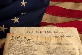 Independence Flag Constitution And Declaration Of Independence On Flag Wishful