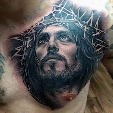 40 jesus chest designs for chris ink ideas