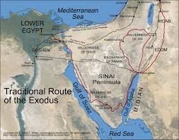 Delta Route Maps by Appendix 2 The Route Of The Exodus Moses Bible Study
