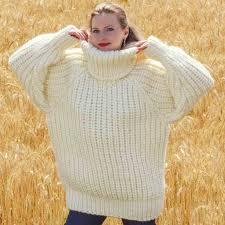 wool sweater sweaters handmade wool sweater in ivory
