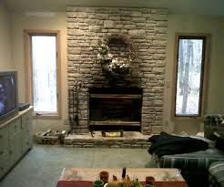 fancy do it yourself project faux stone to creative interior