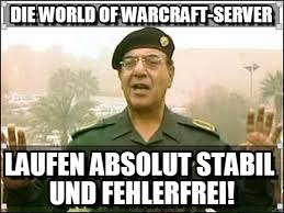 World Of Warcraft Memes - die world of warcraft server on memegen