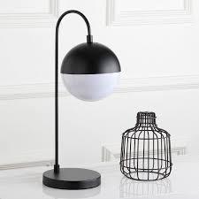 modern black table tbl4040b table lamps lighting by safavieh