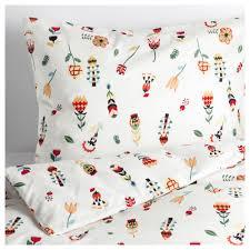 Ikea Duvet Covers King Rosenfibbla Duvet Cover And Pillowcase S Twin Ikea