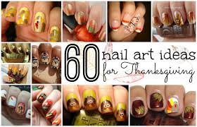 60 easy thanksgiving nail ideas totally the bomb
