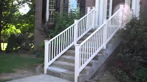 tips safety for vinyl stair railing kits founder stair design ideas