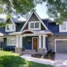 blue house paint interiors design