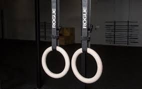 Trx Ceiling Mount Weight Limit by Gymnastic Rings Bodyweight U0026 Gymnastics Training Rogue Fitness