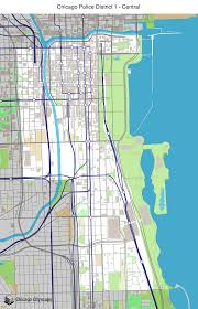 Chicago Loop Map by Map Of Building Projects Properties And Businesses In District 1