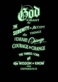 glow in the dark poster inspirational quotes the serenity prayer glow in the dark poster 1