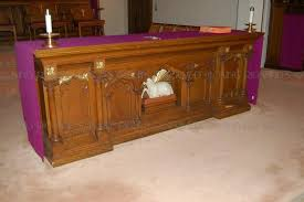altar table for sale wooden gothic altars for sale altar tables new new carved wood