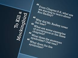 to kill a mockingbird discussion questions ppt video online