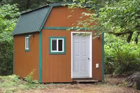 Tiny Cabin Tiny Cabin On Five Acres Provides Options For 85k Curbed Seattle