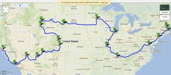 map us route 1 usa road trip route map draft 1 swadeology