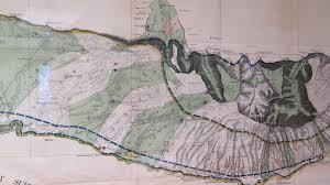 Molokai Map Original 1897 Map Of Molokai Framed Hawaii Government Survey