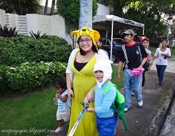 Jake Finn Halloween Costumes Halloween 2012 Finn Jake Ayala Alabang Mrsc