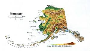 Alaska Map by Topographical Map Of Alaska