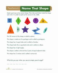 shape riddles worksheet education com
