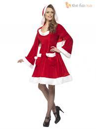 christmas size ladies miss santa costume womens christmas