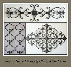 cheap chic decor look at what just arrived tuscan decor by