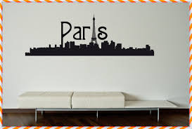 amazing idea paris wall decals home decorations ideas image of paris wall decals color