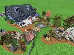 big backyard landscaping ideas home design