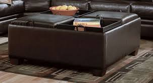 Ottomans With Trays Charming Ottoman With Trays Storage Ottoman With Trays Interiorvues