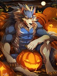 Halloween Graphic Novel by E621 Abs Biceps Canine Darkstalkers Fur Gallon Halloween Holidays