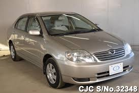 2003 used toyota corolla 2003 toyota corolla silver for sale stock no 32348 japanese
