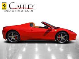 458 spider rear cauley showroom california