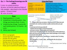 igcse english language extended paper revision and mock test by