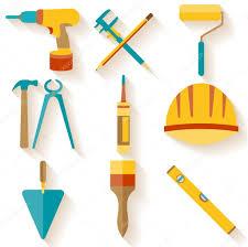 flat design set of house repair icons u2014 stock vector ciripasca
