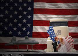 military wedding cakes a wedding cake blog