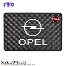 opel logo car styling dashboard sticky pad non slip mat gadget phone holder