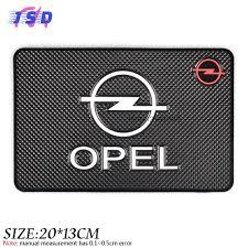 opel logo car styling dashboard sticky pad non slip mat gadget phone holder