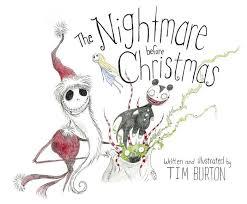 tim burton s the nightmare before a disney read along