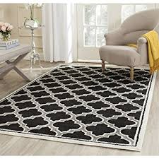 Safavieh Indoor Outdoor Rug Amazon Com Safavieh Amherst Collection Amt412g Anthracite And