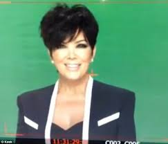 kris jenner hairstyles front and back khloe kardashian mocks kris jenner behind her back at qvc taping