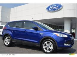 Ford Escape 2016 - 2016 deep impact blue metallic ford escape se 106426083