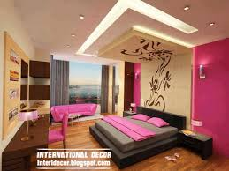 luxury photos of contemporary bedroom design with modern false