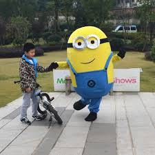 despicable me halloween costumes sale despicable me 2 minion mascot costume popular fancy dress