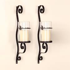 Iron Wall Sconce Iron Wall Sconce Candle Holder U0026 Reviews Birch Lane
