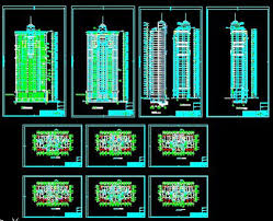 cad drawings of high rise building autocad drawings