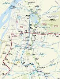 Map Qu Metro Map Of Nanjing Johomaps
