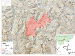 Eastern Washington Wildfire Update by Watch Helicopter Tour Of Eastern Wa Wildfire Seattlepi Com