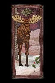 free moose rug hooking patterns bing images needle punch