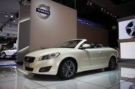 volvo convertible frankfurt show galleries facelifted volvo c70 convertible and c30