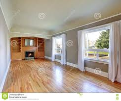 Craftsman Style Home Interior by Unfurnished Living Room Interior In Old Craftsman House Stock