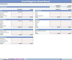 monthly business expense template and budget examples for business