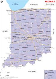 Map Of Illinois And Indiana by Road Map